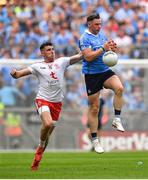 2 September 2018; Philip McMahon of Dublin in action against Connor McAliskey of Tyrone during the GAA Football All-Ireland Senior Championship Final match between Dublin and Tyrone at Croke Park in Dublin. Photo by Brendan Moran/Sportsfile