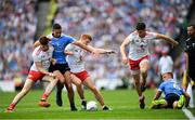 2 September 2018; Cathal McShane, left, Peter Harte, centre, Richard Donnelly, right, of Tyrone in action against James McCarthy, left, and Jonny Cooper of Dublin during the GAA Football All-Ireland Senior Championship Final match between Dublin and Tyrone at Croke Park in Dublin. Photo by Stephen McCarthy/Sportsfile