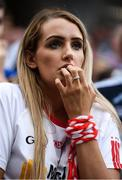 2 September 2018; A Tyrone supporter during the GAA Football All-Ireland Senior Championship Final match between Dublin and Tyrone at Croke Park in Dublin. Photo by David Fitzgerald/Sportsfile