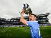 2 September 2018; Dean Rock of Dublin celebrates with the Sam Maguire following the GAA Football All-Ireland Senior Championship Final match between Dublin and Tyrone at Croke Park in Dublin. Photo by Stephen McCarthy/Sportsfile