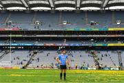 2 September 2018; Bernard Brogan of Dublin on the pitch after the GAA Football All-Ireland Senior Championship Final match between Dublin and Tyrone at Croke Park in Dublin. Photo by Brendan Moran/Sportsfile