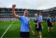 2 September 2018; James McCarthy of Dublin celebrates following the GAA Football All-Ireland Senior Championship Final match between Dublin and Tyrone at Croke Park in Dublin. Photo by Stephen McCarthy/Sportsfile
