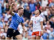 2 September 2018; Ciaran Kilkenny of Dublin celebrates a late point during the GAA Football All-Ireland Senior Championship Final match between Dublin and Tyrone at Croke Park in Dublin. Photo by Stephen McCarthy/Sportsfile