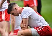 2 September 2018; Richard Donnelly of Tyrone dejected after the GAA Football All-Ireland Senior Championship Final match between Tyrone and Dublin at Croke Park in Dublin. Photo by Oliver McVeigh/Sportsfile
