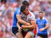 2 September 2018; Richard Donnelly of Tyrone is tackled by John Small of Dublin during the GAA Football All-Ireland Senior Championship Final match between Dublin and Tyrone at Croke Park in Dublin. Photo by Brendan Moran/Sportsfile