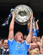 2 September 2018; Ciarán Kilkenny of Dublin lifts the Sam Maguire Cup following the GAA Football All-Ireland Senior Championship Final match between Dublin and Tyrone at Croke Park in Dublin. Photo by Seb Daly/Sportsfile