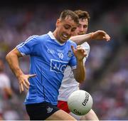 2 September 2018; Cormac Costello of Dublin in action against Rory Brennan of Tyrone during the GAA Football All-Ireland Senior Championship Final match between Dublin and Tyrone at Croke Park in Dublin. Photo by Ray McManus/Sportsfile