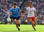 2 September 2018; Brian Howard of Dublin in action against Michael McKernan of Tyrone during the GAA Football All-Ireland Senior Championship Final match between Dublin and Tyrone at Croke Park in Dublin. Photo by Ray McManus/Sportsfile