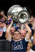 2 September 2018; Stephen Cluxton of Dublin lifts the Sam Maguire Cup following the GAA Football All-Ireland Senior Championship Final match between Dublin and Tyrone at Croke Park in Dublin. Photo by Seb Daly/Sportsfile