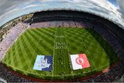 2 September 2018; A general view of Croke Park prior to the GAA Football All-Ireland Senior Championship Final match between Dublin and Tyrone at Croke Park in Dublin. Photo by Stephen McCarthy/Sportsfile