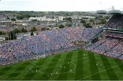 2 September 2018; A general view of Croke Park during the GAA Football All-Ireland Senior Championship Final match between Dublin and Tyrone at Croke Park in Dublin. Photo by Stephen McCarthy/Sportsfile