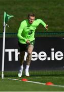 3 September 2018; James McClean during Republic of Ireland squad training at the the FAI National Training Centre in Abbotstown, Dublin. Photo by Stephen McCarthy/Sportsfile