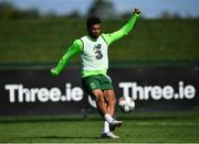 3 September 2018; Cyrus Christie during Republic of Ireland squad training at the the FAI National Training Centre in Abbotstown, Dublin. Photo by Stephen McCarthy/Sportsfile
