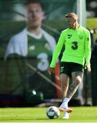 3 September 2018; James McClean during Republic of Ireland squad training at the FAI National Training Centre in Abbotstown, Dublin. Photo by Stephen McCarthy/Sportsfile