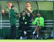 3 September 2018; Manager Martin O'Neill with Shane Duffy and David Meyler, right, during Republic of Ireland squad training at the FAI National Training Centre in Abbotstown, Dublin. Photo by Stephen McCarthy/Sportsfile