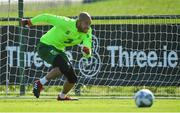 3 September 2018; Darren Randolph during Republic of Ireland squad training at the FAI National Training Centre in Abbotstown, Dublin. Photo by Stephen McCarthy/Sportsfile