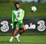 3 September 2018; Cyrus Christie during Republic of Ireland squad training at the FAI National Training Centre in Abbotstown, Dublin. Photo by Stephen McCarthy/Sportsfile