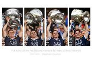 Dublin Captain Stephen Cluxton, Four in a row All-Ireland Seinor Football Final Winner cup lifts, 2015, 2016, 2017 and 2018.