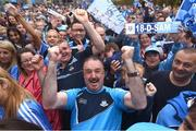 3 September 2018; Dublin supporters during the Dublin All-Ireland Football Winning team homecoming at Smithfield in Dublin. Photo by David Fitzgerald/Sportsfile