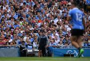 2 September 2018; Dublin manager Jim Gavin during the GAA Football All-Ireland Senior Championship Final match between Dublin and Tyrone at Croke Park in Dublin. Photo by Piaras Ó Mídheach/Sportsfile