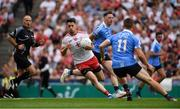 2 September 2018; Mattie Donnelly of Tyrone in action against Philip McMahon, behind, and Con O'Callaghan of Dublin during the GAA Football All-Ireland Senior Championship Final match between Dublin and Tyrone at Croke Park in Dublin. Photo by Piaras Ó Mídheach/Sportsfile