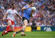2 September 2018; Dean Rock of Dublin in action against Ronan McNamee of Tyrone during the GAA Football All-Ireland Senior Championship Final match between Dublin and Tyrone at Croke Park in Dublin. Photo by Piaras Ó Mídheach/Sportsfile