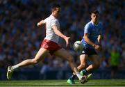 2 September 2018; Colm Cavanagh of Tyrone in action against Brian Howard of Dublin during the GAA Football All-Ireland Senior Championship Final match between Dublin and Tyrone at Croke Park in Dublin. Photo by Piaras Ó Mídheach/Sportsfile