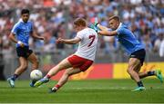 2 September 2018; Peter Harte of Tyrone in action against Jonny Cooper of Dublin, as Cian O'Sullivan, left, looks on during the GAA Football All-Ireland Senior Championship Final match between Dublin and Tyrone at Croke Park in Dublin. Photo by Piaras Ó Mídheach/Sportsfile