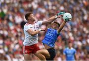 2 September 2018; Conor Meyler of Tyrone in action against Eoin Murchan of Dublin during the GAA Football All-Ireland Senior Championship Final match between Dublin and Tyrone  at Croke Park in Dublin. Photo by Oliver McVeigh/Sportsfile