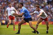 2 September 2018; James McCarthy of Dublin in action against Conor Meyler of Tyrone during the GAA Football All-Ireland Senior Championship Final match between Dublin and Tyrone at Croke Park in Dublin. Photo by Oliver McVeigh/Sportsfile