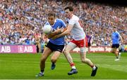 2 September 2018; Cormac Costello of Dublin in action against Rory Brennan of Tyrone during the GAA Football All-Ireland Senior Championship Final match between Dublin and Tyrone at Croke Park in Dublin. Photo by Ramsey Cardy/Sportsfile
