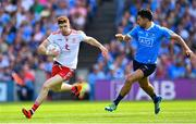 2 September 2018; Cathal McShane of Tyrone in action against Cian O'Sullivan of Dublin during the GAA Football All-Ireland Senior Championship Final match between Dublin and Tyrone at Croke Park in Dublin. Photo by Ramsey Cardy/Sportsfile