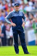 2 September 2018; Dublin manager Jim Gavin during the GAA Football All-Ireland Senior Championship Final match between Dublin and Tyrone at Croke Park in Dublin. Photo by Ramsey Cardy/Sportsfile