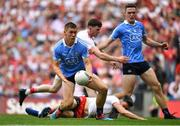 2 September 2018; Con O'Callaghan of Dublin on the way to setting up his side's second goal during the GAA Football All-Ireland Senior Championship Final match between Dublin and Tyrone at Croke Park in Dublin. Photo by Brendan Moran/Sportsfile