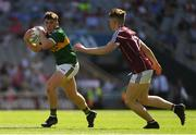 2 September 2018; Darragh Rahilly of Kerry in action against Liam Judge of Galway during the Electric Ireland GAA Football All-Ireland Minor Championship Final match between Kerry and Galway at Croke Park in Dublin. Photo by Piaras Ó Mídheach/Sportsfile
