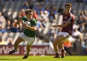 2 September 2018; Dan Murphy of Kerry in action against Paul Kelly of Galway during the Electric Ireland GAA Football All-Ireland Minor Championship Final match between Kerry and Galway at Croke Park in Dublin. Photo by Piaras Ó Mídheach/Sportsfile