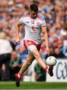 2 September 2018; Richard Donnelly of Tyrone during the GAA Football All-Ireland Senior Championship Final match between Dublin and Tyrone at Croke Park in Dublin. Photo by Seb Daly/Sportsfile