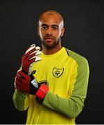 4 September 2018; Darren Randolph of Republic of Ireland poses during a squad portrait session at their team hotel in Dublin. Photo by Stephen McCarthy/Sportsfile