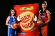 5 September 2018; Mouth-watering opening round Hula Hoops National Cup clash in store as Tralee drawn against Templeogue and Glanmire face Killester. There will be a mouth-watering opening to the 2018/19 Hula Hoops Men's National Cup this season as reigning champions Templeogue will host Garvey's Tralee Warriors in a hugely-anticipated clash. The draw was made at the National Basketball Arena in Tallaght this afternoon as part of the official launch of the 2018/19 Basketball Ireland season, which sees a huge 49 clubs competing in the senior National League and Cups this year.   Today's Cup draws dished up a number of interesting clashes across the board, with last year's Pat Duffy Cup runners up UCD Marian facing Moycullen, while Belfast Star will host Neptune. In the Women's National Cup there are some big clashes in store with the draw pitting Ambassador UCC Glanmire against Pyrobel Killester in the opening round, while Marble City Hawks and Fr Mathews – who met each other five times last season between the Cup and the regular season, and have faced each other every year for the past four years in National Cup – will face each other yet again. Pictured are Annaliese Murphy, of Ambassador UCC Glanmire, left, and Hannah Thornton of Pyrobel Killester. Photo by Sam Barnes/Sportsfile