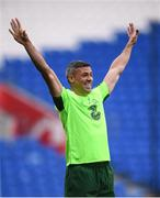 5 September 2018; Jonathan Walters during a Republic of Ireland training session at Cardiff City Stadium in Cardiff, Wales. Photo by Stephen McCarthy/Sportsfile