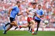 2 September 2018; Kieran McGeary of Tyrone in action against James McCarthy of Dublin during the GAA Football All-Ireland Senior Championship Final match between Dublin and Tyrone at Croke Park in Dublin. Photo by Brendan Moran/Sportsfile