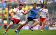 2 September 2018; Mattie Donnelly of Tyrone in action against Con O'Callaghan of Dublin during the GAA Football All-Ireland Senior Championship Final match between Dublin and Tyrone at Croke Park in Dublin. Photo by Brendan Moran/Sportsfile