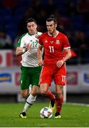 6 September 2018; Gareth Bale of Wales in action against Stephen Ward of Republic of Ireland during the UEFA Nations League match between Wales and Republic of Ireland at the Cardiff City Stadium in Cardiff, Wales. Photo by Stephen McCarthy/Sportsfile
