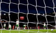 6 September 2018; Republic of Ireland players react after Wales first goal during the UEFA Nations League match between Wales and Republic of Ireland at the Cardiff City Stadium in Cardiff, Wales. Photo by Stephen McCarthy/Sportsfile