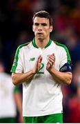 6 September 2018; Seamus Coleman of Republic of Ireland following the UEFA Nations League match between Wales and Republic of Ireland at the Cardiff City Stadium in Cardiff, Wales. Photo by Stephen McCarthy/Sportsfile