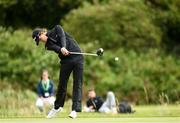 7 September 2018; Nicolai Hojgaard of Denmark hits a shot from the first tee during the 2018 World Amateur Team Golf Championships - Eisenhower Trophy competition at Carton House in Maynooth, Co Kildare. Photo by Matt Browne/Sportsfile