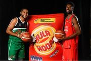 5 September 2018; Mouth-watering opening round Hula Hoops National Cup clash in store as Tralee drawn against Templeogue and Glanmire face Killester. There will be a mouth-watering opening to the 2018/19 Hula Hoops Men's National Cup this season as reigning champions Templeogue will host Garvey's Tralee Warriors in a hugely-anticipated clash. The draw was made at the National Basketball Arena in Tallaght this afternoon as part of the official launch of the 2018/19 Basketball Ireland season, which sees a huge 49 clubs competing in the senior National League and Cups this year.   Today's Cup draws dished up a number of interesting clashes across the board, with last year's Pat Duffy Cup runners up UCD Marian facing Moycullen, while Belfast Star will host Neptune. In the Women's National Cup there are some big clashes in store with the draw pitting Ambassador UCC Glanmire against Pyrobel Killester in the opening round, while Marble City Hawks and Fr Mathews – who met each other five times last season between the Cup and the regular season, and have faced each other every year for the past four years in National Cup – will face each other yet again. Pictured are Andrew Curiel of LIT and Justin Goldsborough of Bad Bobs Tolka Rovers. Photo by Sam Barnes/Sportsfile