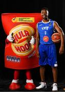 5 September 2018; Mouth-watering opening round Hula Hoops National Cup clash in store as Tralee drawn against Templeogue and Glanmire face Killester. There will be a mouth-watering opening to the 2018/19 Hula Hoops Men's National Cup this season as reigning champions Templeogue will host Garvey's Tralee Warriors in a hugely-anticipated clash. The draw was made at the National Basketball Arena in Tallaght this afternoon as part of the official launch of the 2018/19 Basketball Ireland season, which sees a huge 49 clubs competing in the senior National League and Cups this year.   Today's Cup draws dished up a number of interesting clashes across the board, with last year's Pat Duffy Cup runners up UCD Marian facing Moycullen, while Belfast Star will host Neptune. In the Women's National Cup there are some big clashes in store with the draw pitting Ambassador UCC Glanmire against Pyrobel Killester in the opening round, while Marble City Hawks and Fr Mathews – who met each other five times last season between the Cup and the regular season, and have faced each other every year for the past four years in National Cup – will face each other yet again. Pictured is Spencer Williams of LYIT Donegals. Photo by Sam Barnes/Sportsfile