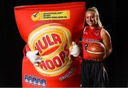 5 September 2018; Mouth-watering opening round Hula Hoops National Cup clash in store as Tralee drawn against Templeogue and Glanmire face Killester. There will be a mouth-watering opening to the 2018/19 Hula Hoops Men's National Cup this season as reigning champions Templeogue will host Garvey's Tralee Warriors in a hugely-anticipated clash. The draw was made at the National Basketball Arena in Tallaght this afternoon as part of the official launch of the 2018/19 Basketball Ireland season, which sees a huge 49 clubs competing in the senior National League and Cups this year.   Today's Cup draws dished up a number of interesting clashes across the board, with last year's Pat Duffy Cup runners up UCD Marian facing Moycullen, while Belfast Star will host Neptune. In the Women's National Cup there are some big clashes in store with the draw pitting Ambassador UCC Glanmire against Pyrobel Killester in the opening round, while Marble City Hawks and Fr Mathews – who met each other five times last season between the Cup and the regular season, and have faced each other every year for the past four years in National Cup – will face each other yet again. Pictured is Courtney Walsh of IT Carlow Basketball. Photo by Sam Barnes/Sportsfile