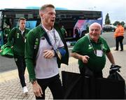 6 September 2018; James McClean of Republic of Ireland arrives ahead of the the UEFA Nations League match between Wales and Republic of Ireland at the Cardiff City Stadium in Cardiff, Wales. Photo by Stephen McCarthy/Sportsfile